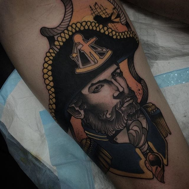 Tattoo by Conor Wearn