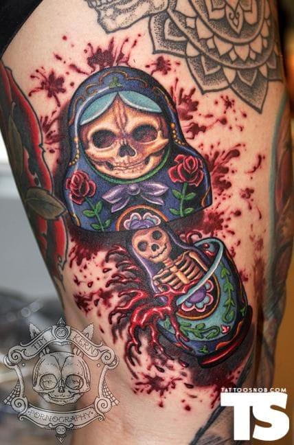 tattoo by Tim Kern