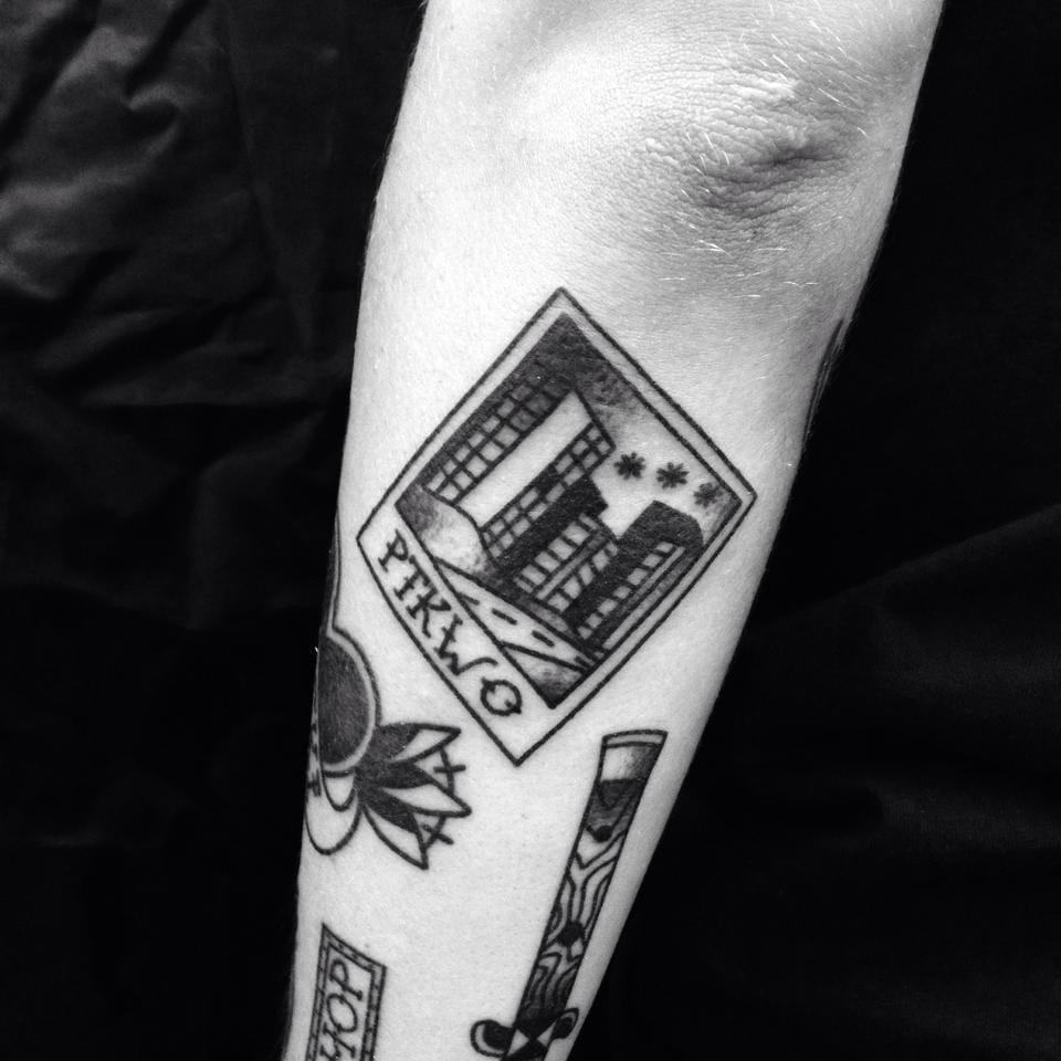 Polaroid Tattoo by Blame Max Tattoo