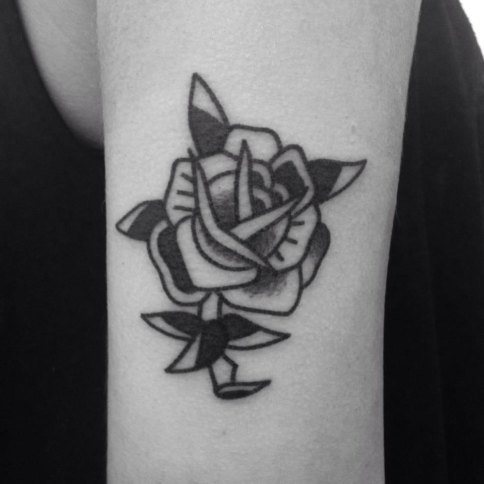 Rose Tattoo by Blame Max Tattoo