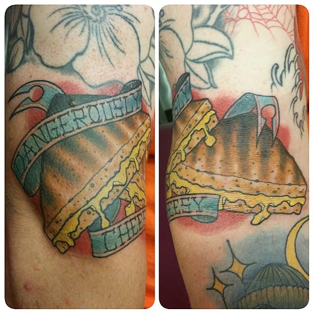 10 Tasty Grilled Cheese Tattoos