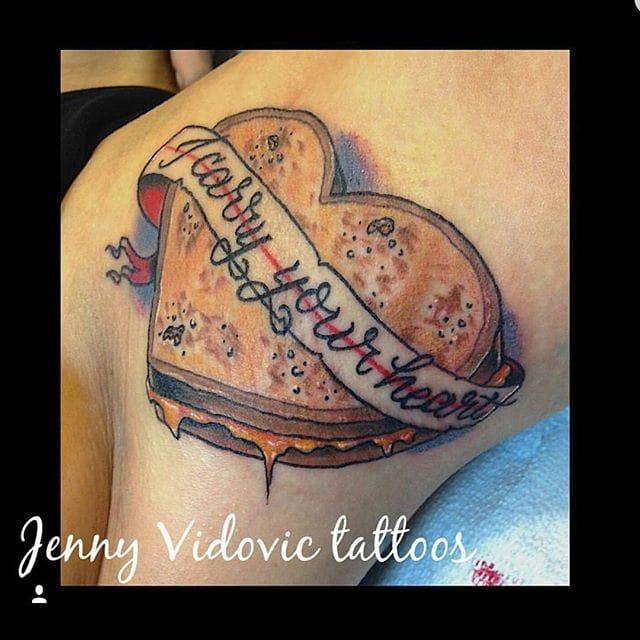 Tattoo by Jenny Vidovic