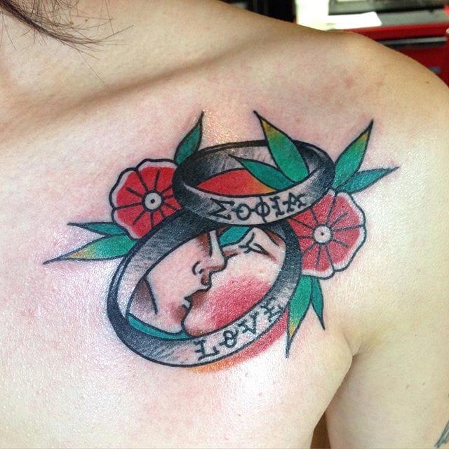 by @naughtyjam_tattooer #romancetattoo