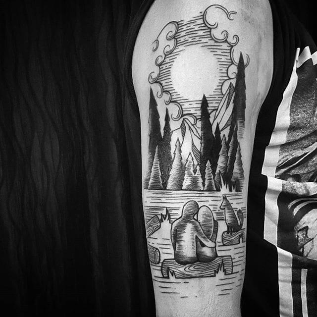 Romance tattoo by Mina Taur