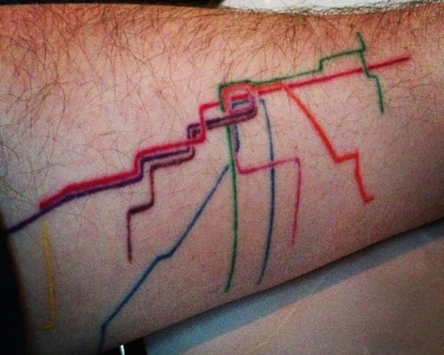 Chicago Resident Gets An Unusual Chicago Tribute Tattoo