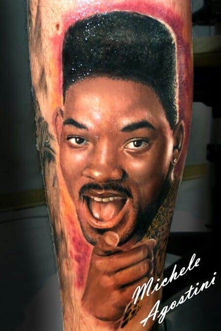 Fresh Prince Tattoo by Michele Agostini