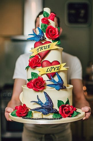 So you think marriage is a piece of cake?