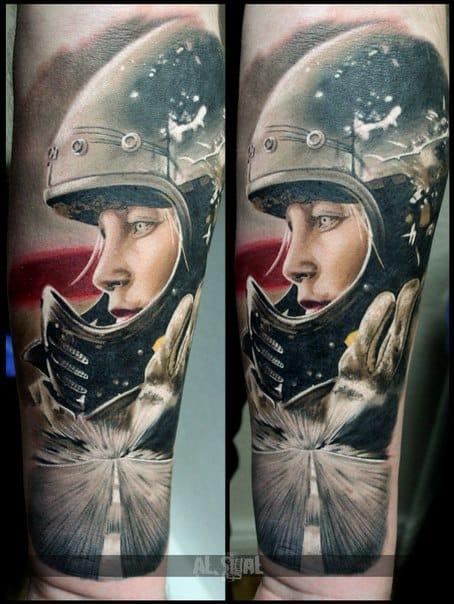 Photo-Realistic Tattoos Of Aleksandr Romashev