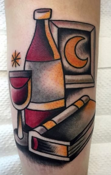 Tattoo by ØRIØL / LASTMINVTE. Photo: Instagram.