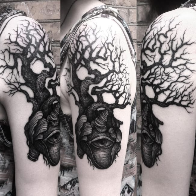 Gothic Fairytale: The Tattoos Of Dmitriy Tkach