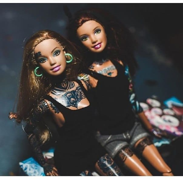 Abigail Heartless: The Travelling Tattooed Barbie Doll