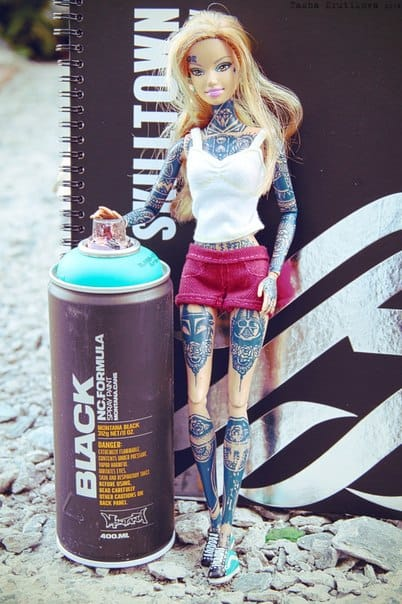 Who would have thought biro could create such epic tattoos?! Photo: VK.com.