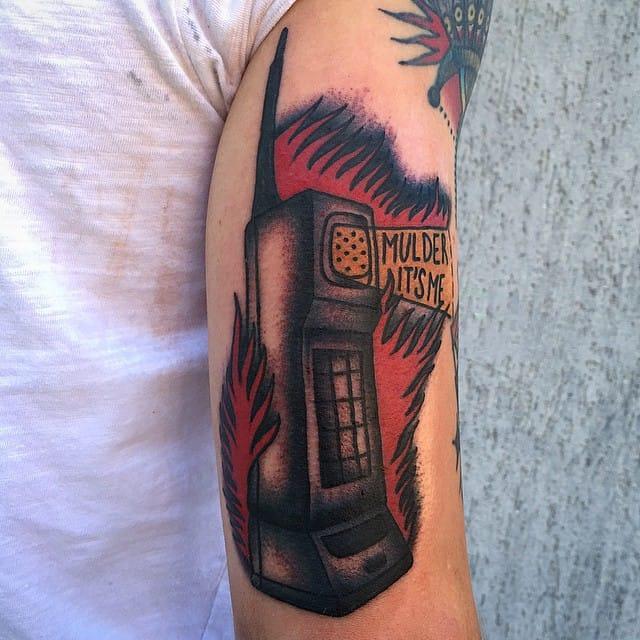 X-Files Tattoo by Alessandro Booka