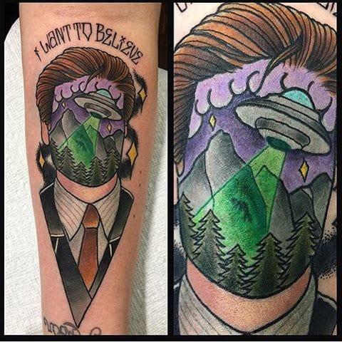 X-Files Tattoo by Jay Joree