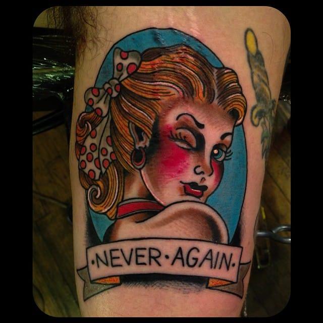 X-Files Tattoo by Richard Dean