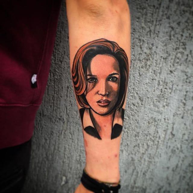 X-Files Tattoo by Tommaso Serpentini