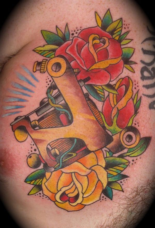 Jonesy Tattoo machine by Dave Kruseman
