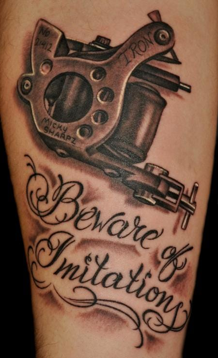 Check out this Micky Sharpz Tattoo machine by Audi.