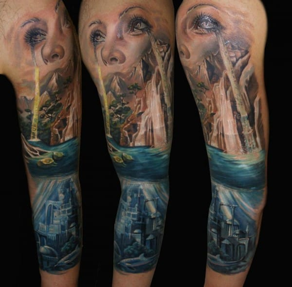 20 Waterfall Tattoos
