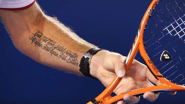 Wawrinka's Tattoo