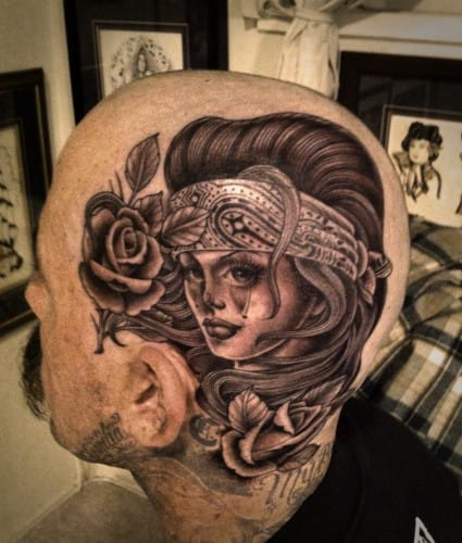 Tattoo by Tim Hendricks, Saltwater Tattoo.