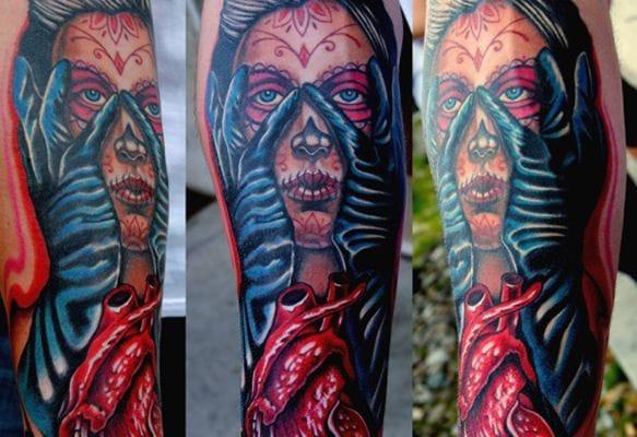Tattoo by Andrea Lanzi