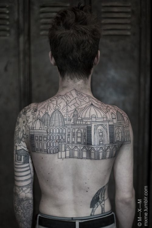 12 Structural Tattoos For Your Inner Architect