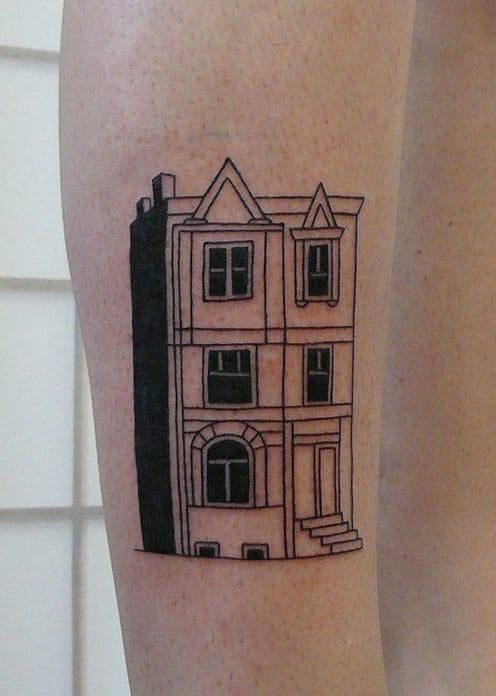 Cute townhouse design, via Tumblr