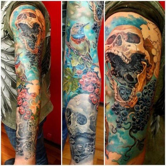 Realistic tattoo #AlexanderPashkov