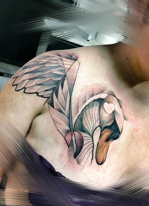 20 Extraordinary Fine-Feathered Anatidae Tattoos