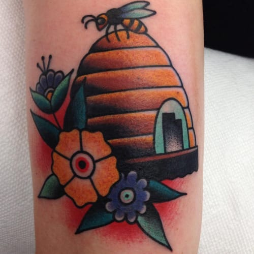 Tattoo by Jeffrey Pons done at King of Swords Tattoo