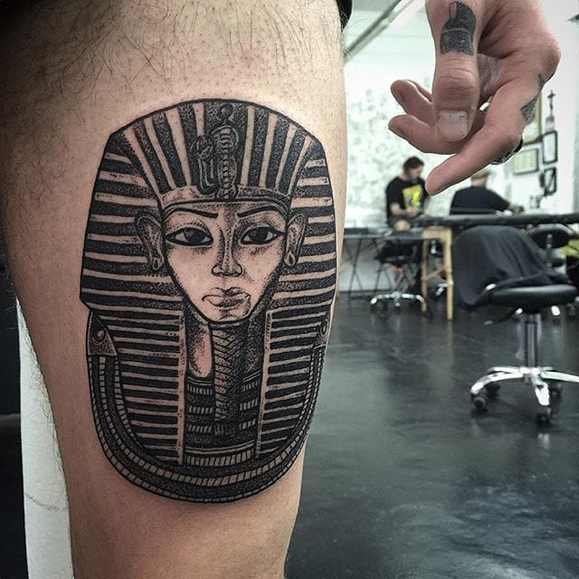 Another wonderful Ancient Egypt inspired ink #HannahPixieSykes