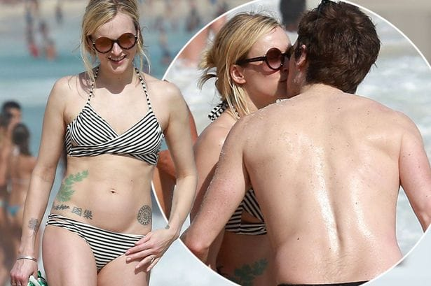 Fearne Cotton Shows Off Her Beach Body and Tattoos!
