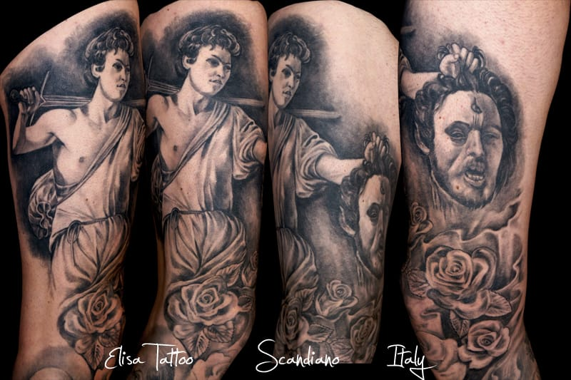 By Elisa Tattoo (Italy)