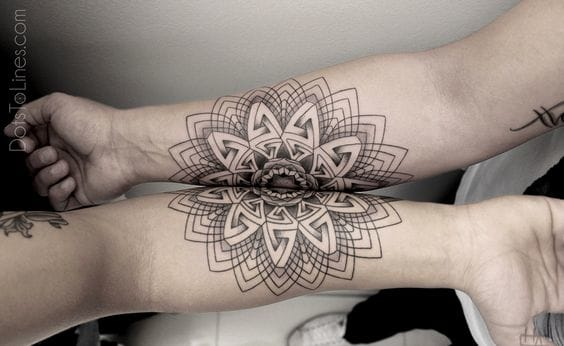 Connecting tattoos via Chaim Machlev.