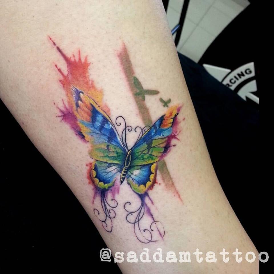 15 Fantásticas Tatuagens Coloridas De Saddam Tat