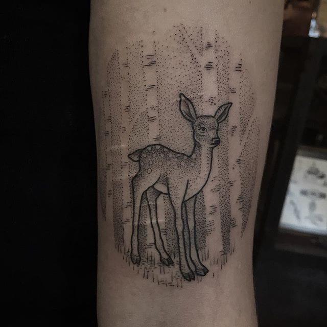 Stippled fawn, @suflanda/Instagram