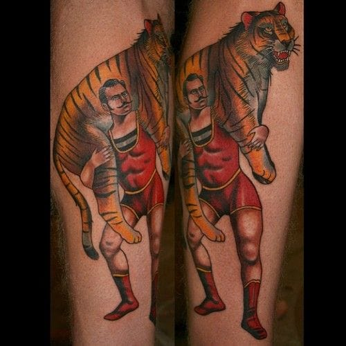 With a tiger this time, by Stefan Johnsson.