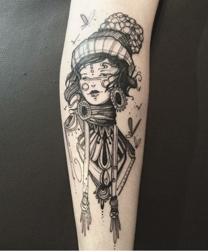 Lovely tattoo #VickyFiliault