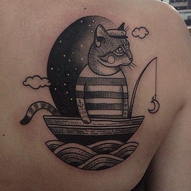Fisher-cat #SusanneKönig