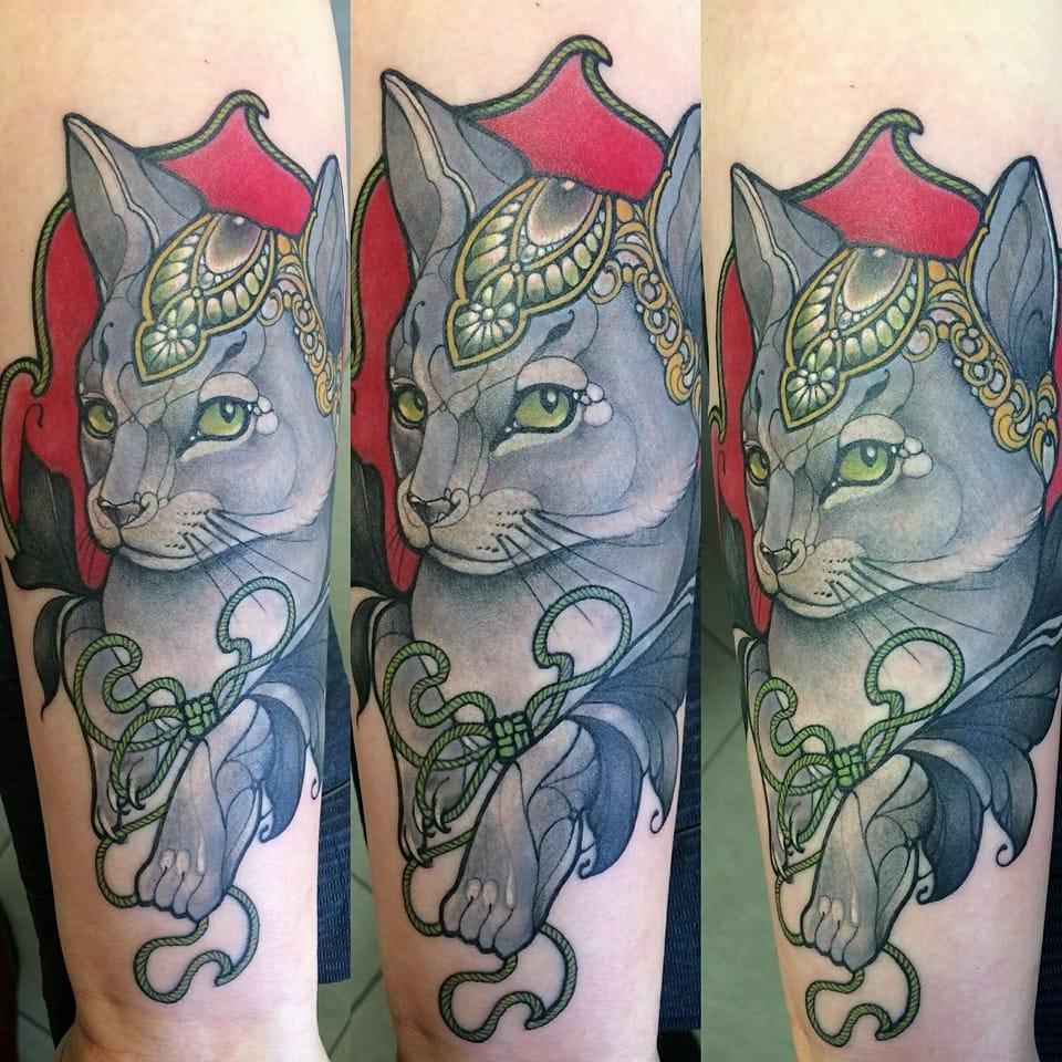 Fancy cat. By Miss Juliet