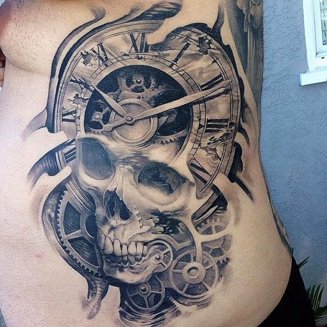 Great skull by Josh Duffy.