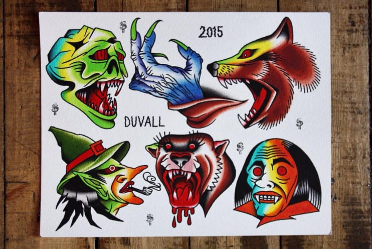 Horror flash by Jimmy Duvall. Photo: Instagram.