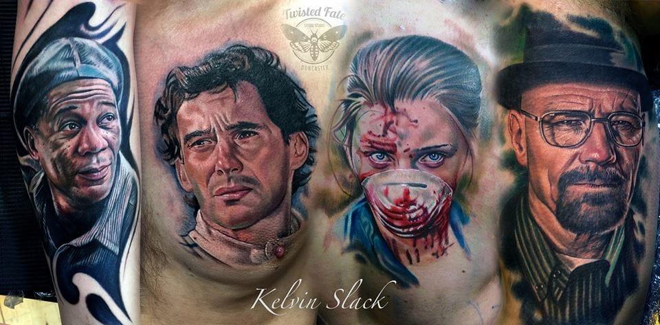 Tatuagens Realistas De Kelvin Barry Slack Em 15 Fotos