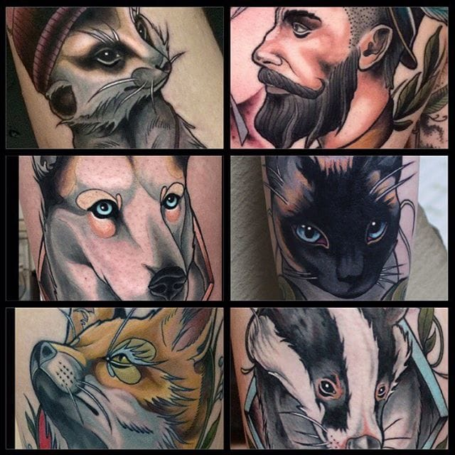 18 Stunning Neo-Traditional Tattoos By Brian Povak