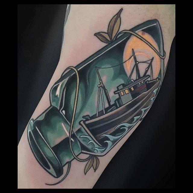 Tattoo by Brian Povak