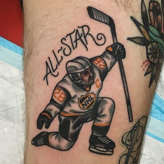 12 Ruthless Ice Hockey Tattoos