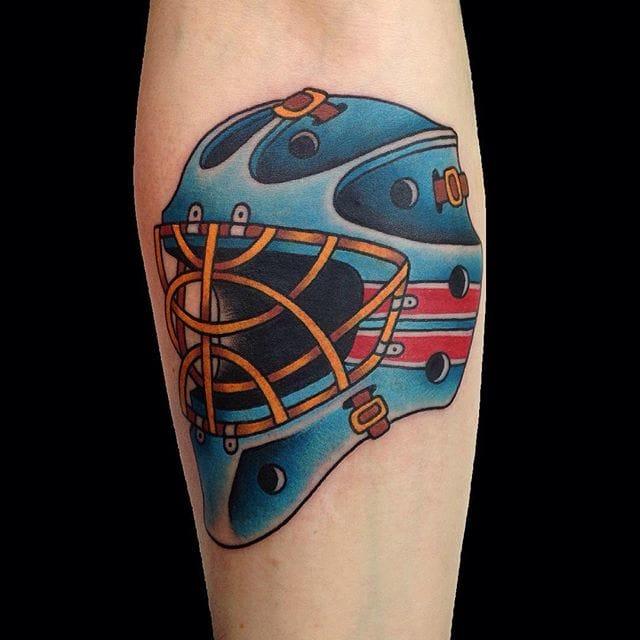 Hockey Tattoo by Marina Goncharova