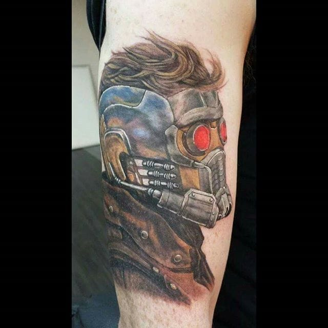 Starlord Tattoo by Freddy Payne