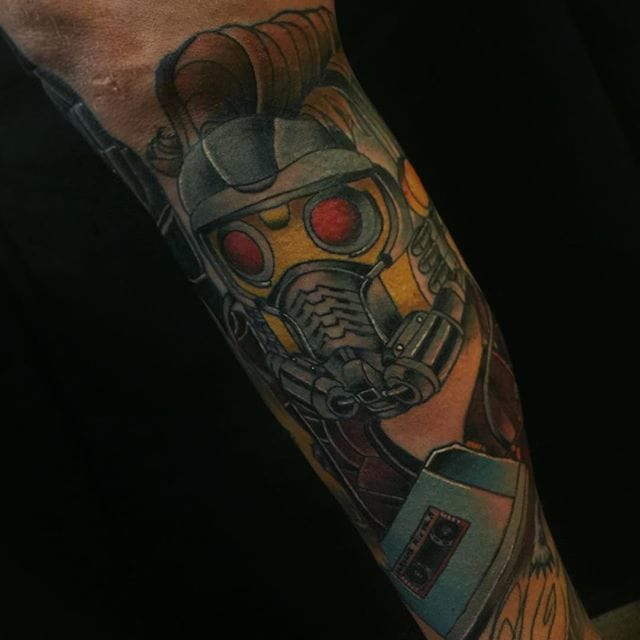 Starlord Tattoo by Kim Scott